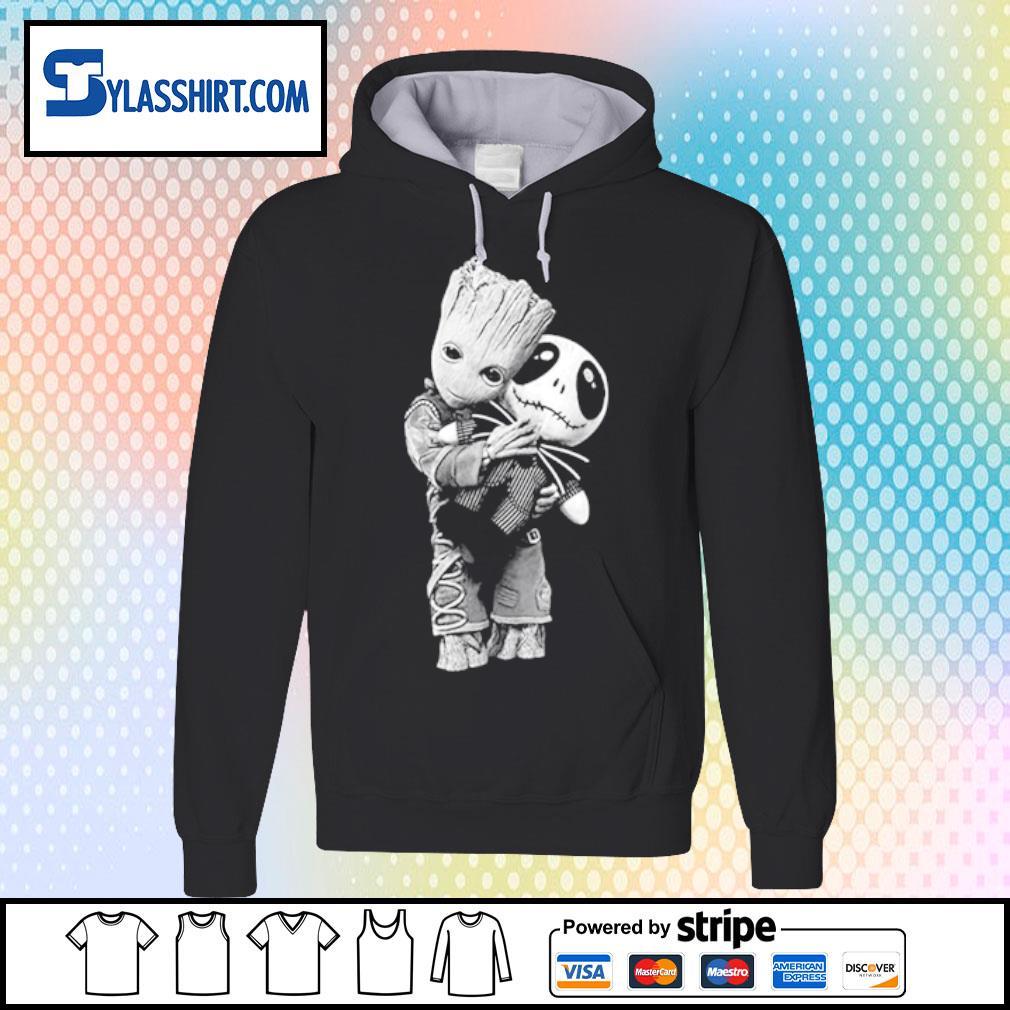 Baby Groot hug Jack s hoodie
