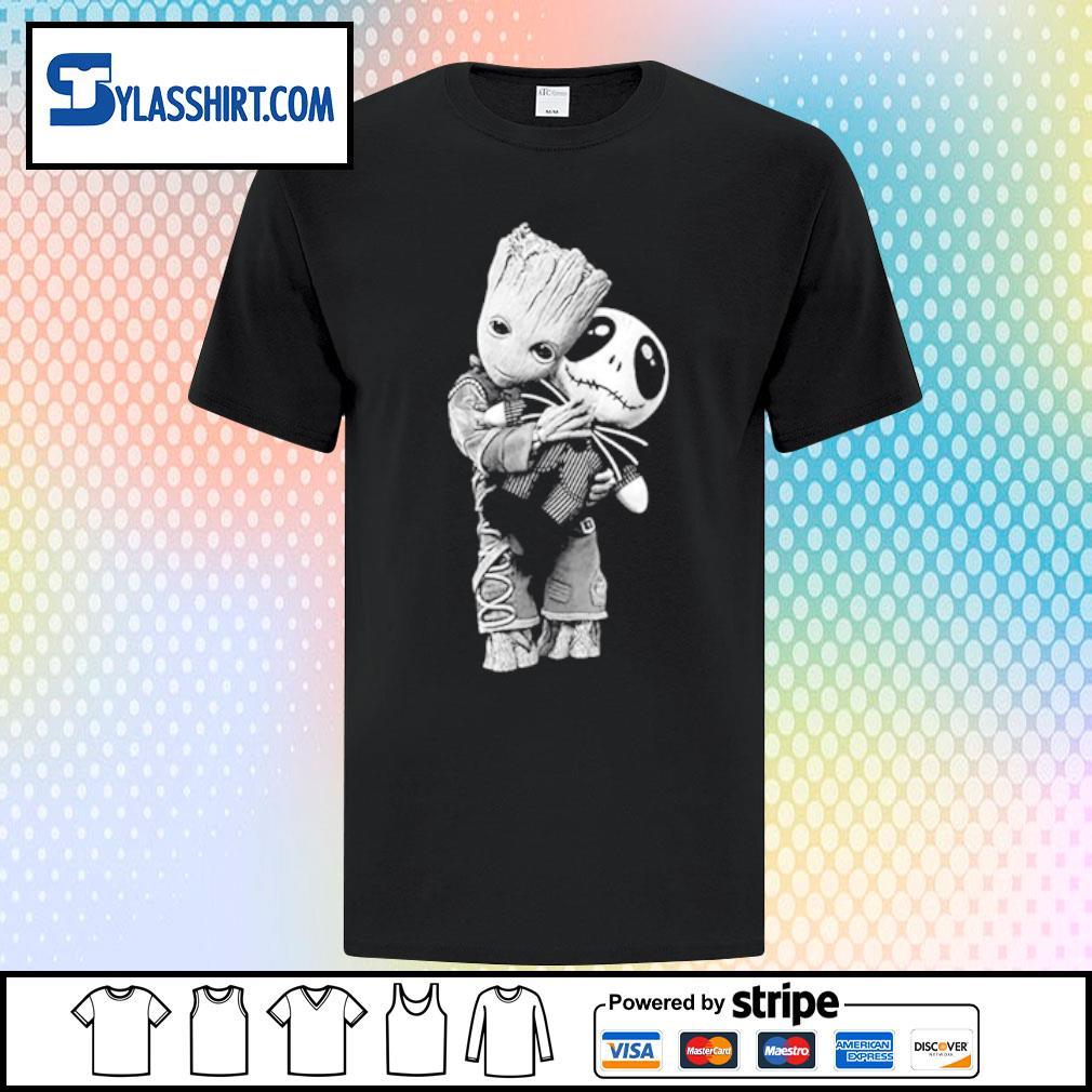 Baby Groot hug Jack shirt