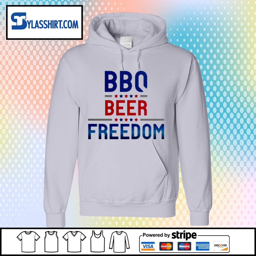 BBQ beer freedom s hoodie
